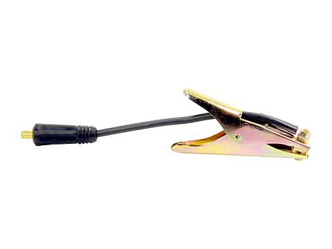 Massekabel 16 mm² aus H01 N2 Gummi mit SK25 Stecker und Klemme Abbildung kann Abweichen
