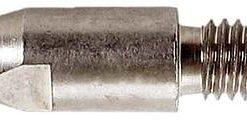 E-Cu Stromdüsen vernickelt M8 x 30 mm