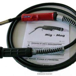 500/501 MIG/MAG Schutzgasschweißbrenner flüssiggekühlt gesteckte Gasdüse
