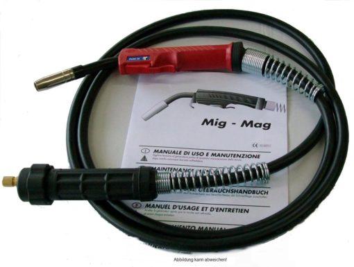 600 MIG/MAG Schutzgasschweißbrenner flüssiggekühlt gesteckte Gasdüse