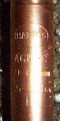 HARRIS AGN gasemischende Düse für Acetylen