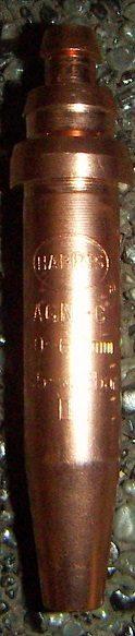 Gasemischende Düsen Acetylen 1-teilig TYP A-GN Abbildung kann Abweichen