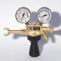 200 bar Flaschendruckminderer mit Flowmeter für Argon, Mischgase und CO2, Arbeitsdruck max. 30 Ltr./Min. Abbildung kann Abweichen