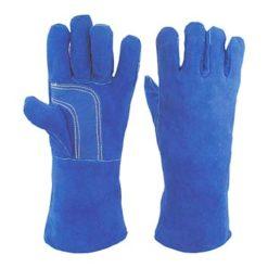 MAG - Schweißerhandschuh blau Abbildung kann Abweichen