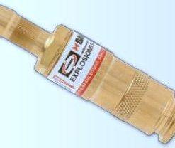 Sicherheitseinrichtung mit Schlauchkupplungen Modell 199-SR-DK für Sauerstoff/Brenngas