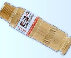 Sicherheitseinrichtung mit Schlauchkupplungen Modell 177-G für Sauerstoff/Brenngas