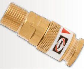 Harris Schlauchkupplungen Modell DKG für Sauerstoff Abbildung kann Abweichen