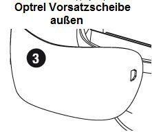 Verbrauchsmaterial für Schweißerhelme OPTREL e680/670/650