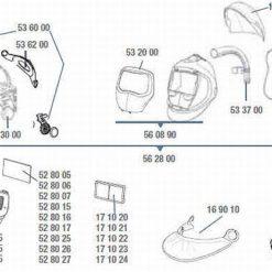 3M™ Speedglas™ 9100 FX Air Kopfband inkl. Montageset