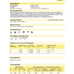Stabelektroden OK 55.00 Ø 4,0 x 350 mm-977