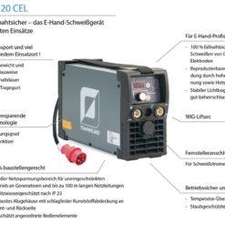 Elektrodenschweißgerät MMA 220 Teamwelder