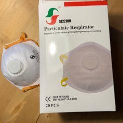 FFP 2 Maske mit Ventil, CE Kennzeichnung