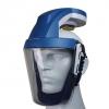 Kompakter Helm mit eingebauten Filtersystem